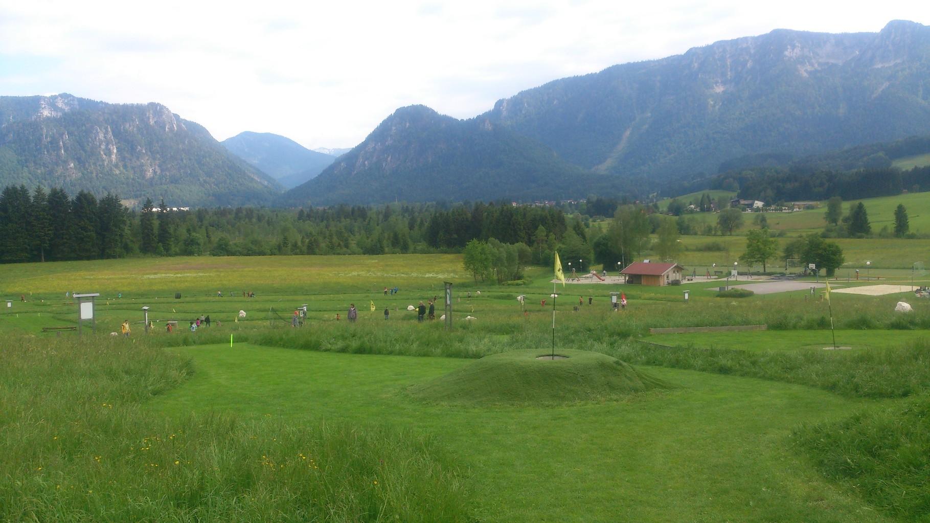 Soccerpark Inzell Fußball-Golf