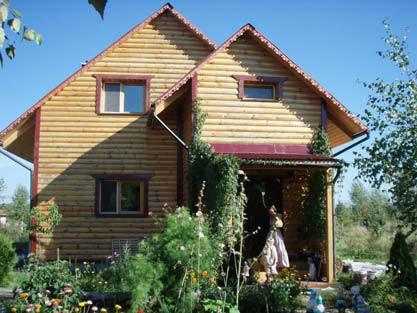生態村中常見的美麗自然屋