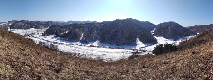 爬上小山丘看清原泉家園聚落預定地全景