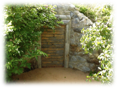 村民塔提安娜的地窖