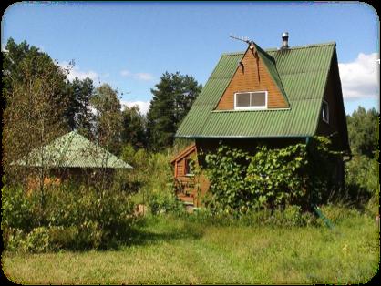 塔提安娜自建的小屋