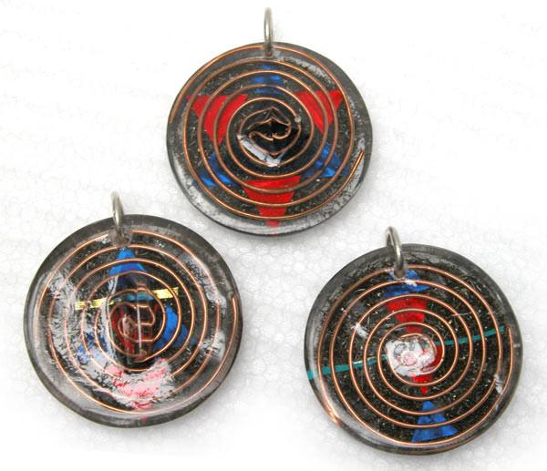 Amuletos Limpiadores del aura y fractalizadores de energía pura