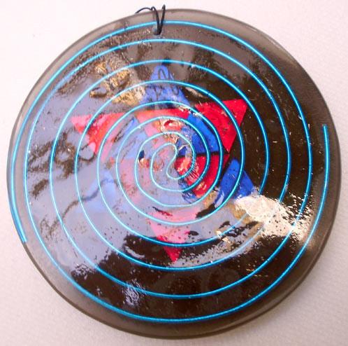 Amuleto gigante Limpiador del aura y fractalizador de energía pura