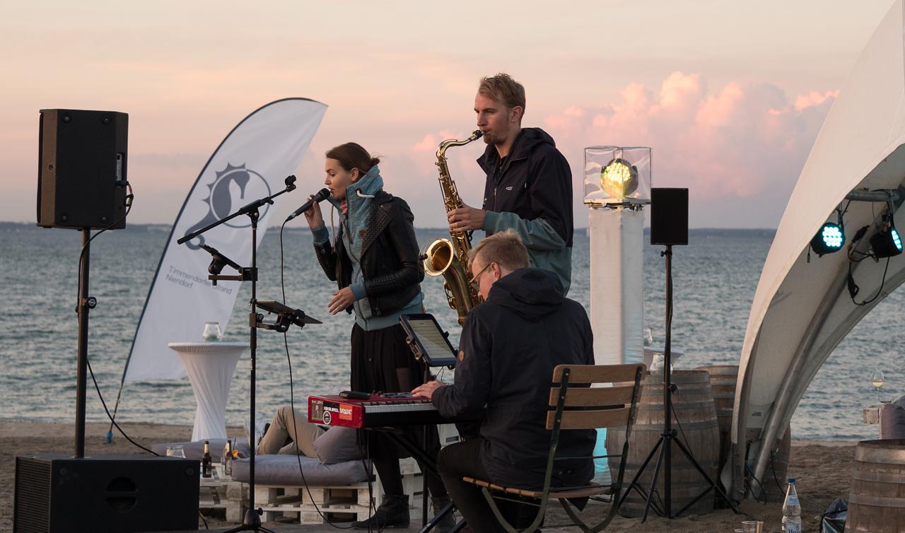 Meeresrauschen und Musik ...