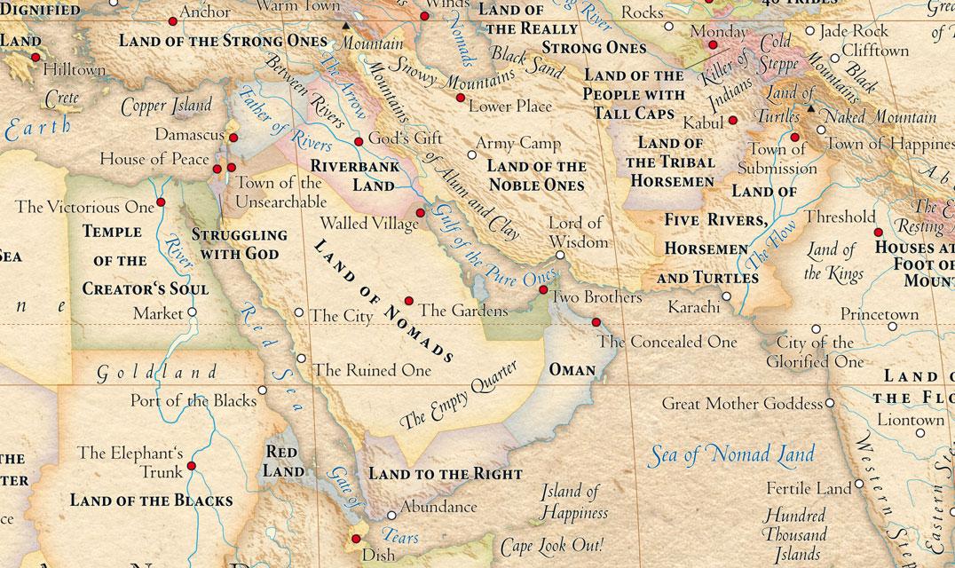 Atlas of True Names - World