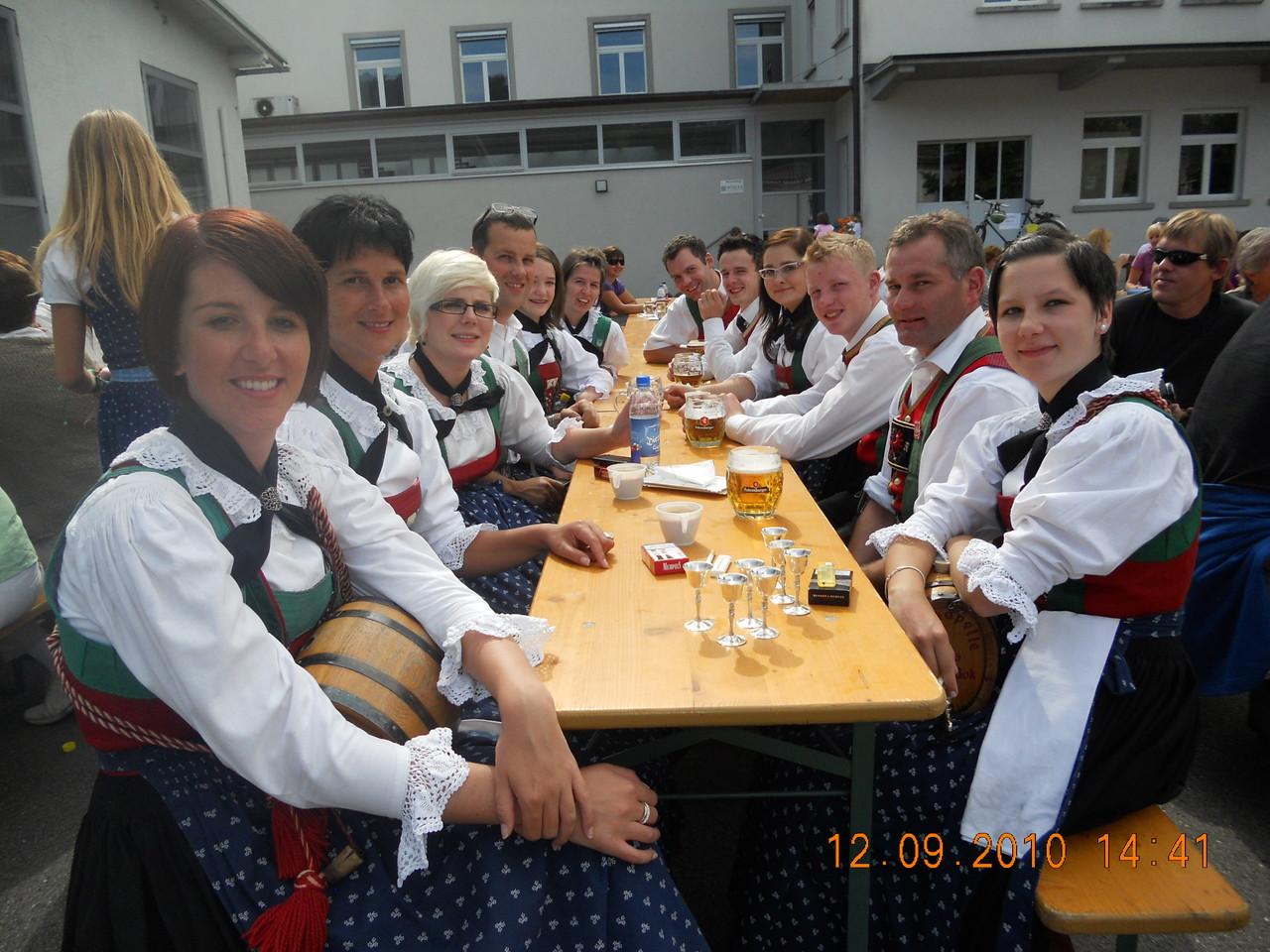 Gut gelaunt beim Gauderfest (c) Werner Daum