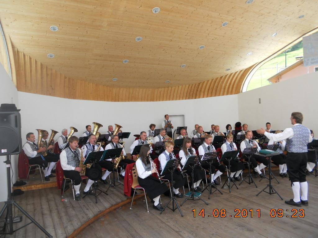Bürgermusik Schwarzach auf Besuch (c) MK Schwarzach