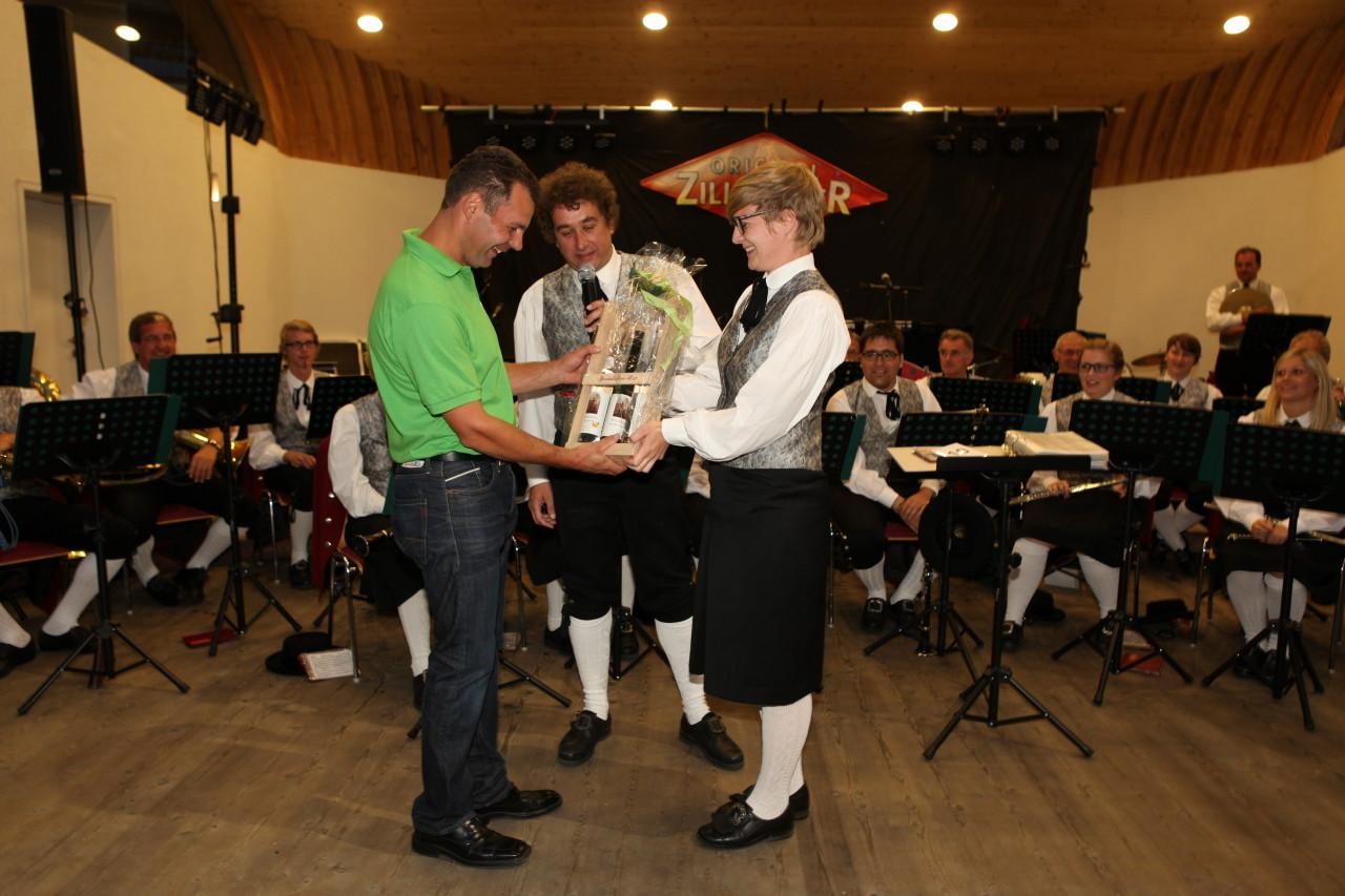 Gastgeschenk MK Schwarzach (c) Werner Hammerle