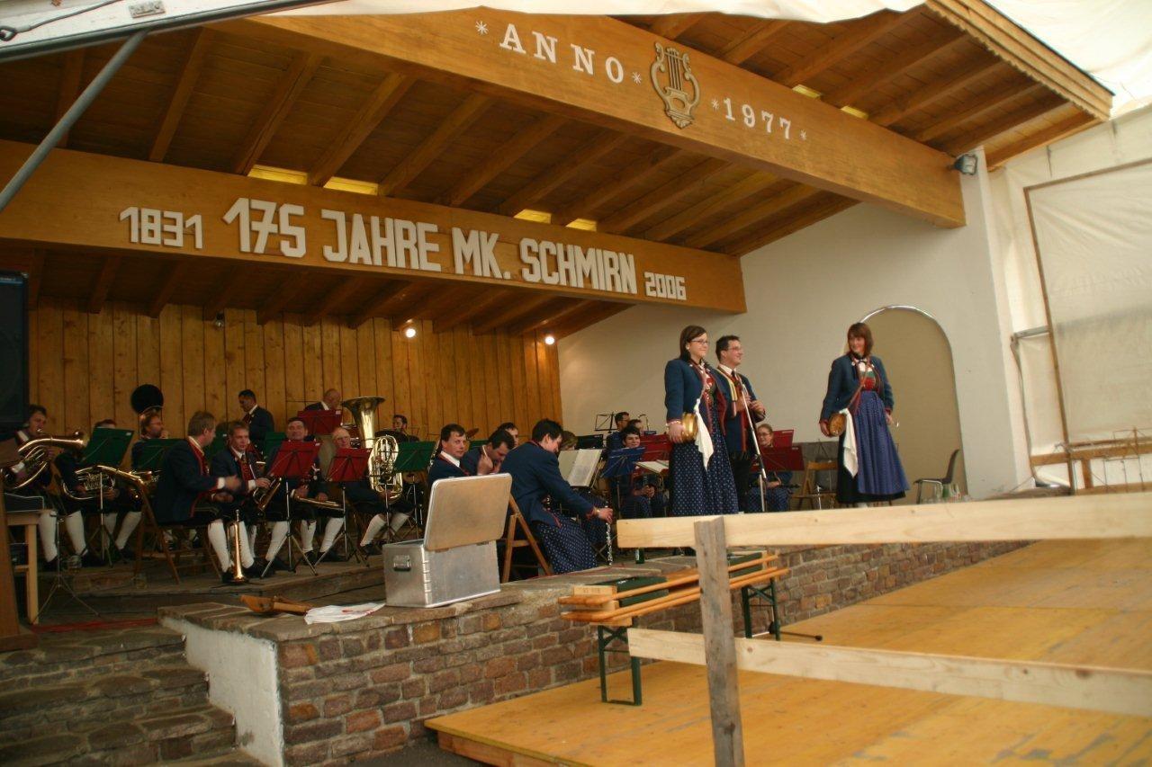 Konzert 175-Jahrfeier MK Schmirn (c) Reinhard Auer