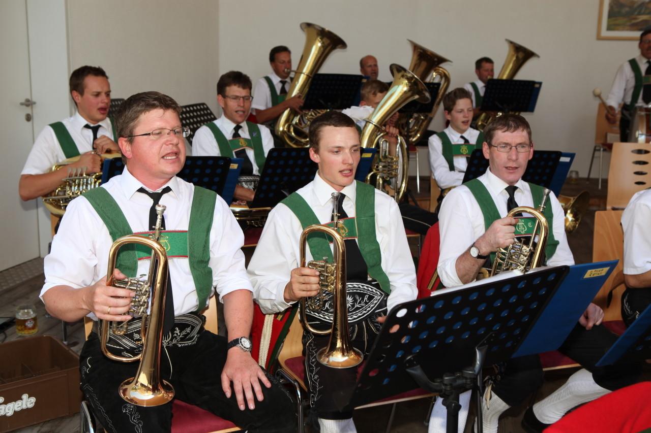 Konzert der MK Schmirn (c) Werner Hammerle