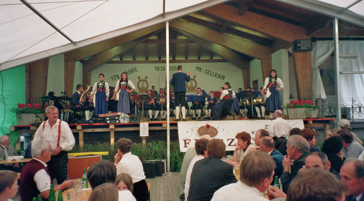 Konzert in Sellrain (c) Werner Daum