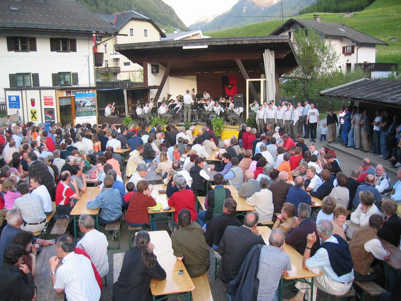 Militärmusik in St. Jodok (c) Werner Daum