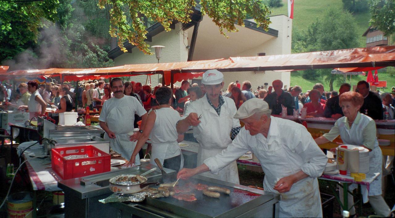 Bezirksmusikfest - Küche (Steinach) (c) Werner Daum