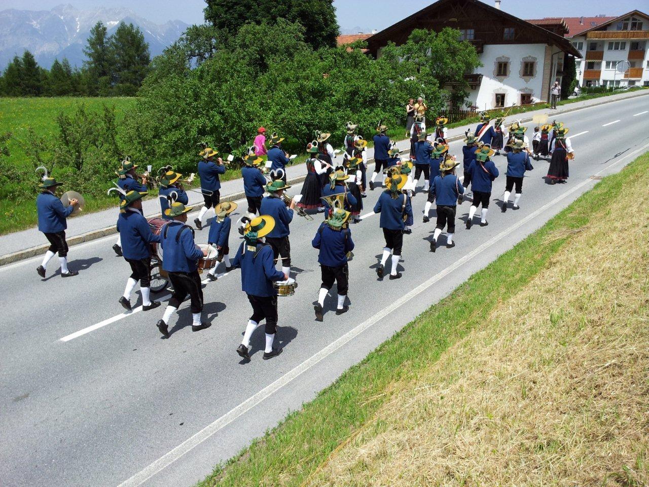 Bezirksmusikfest in Schönberg (c) Reinhard Auer