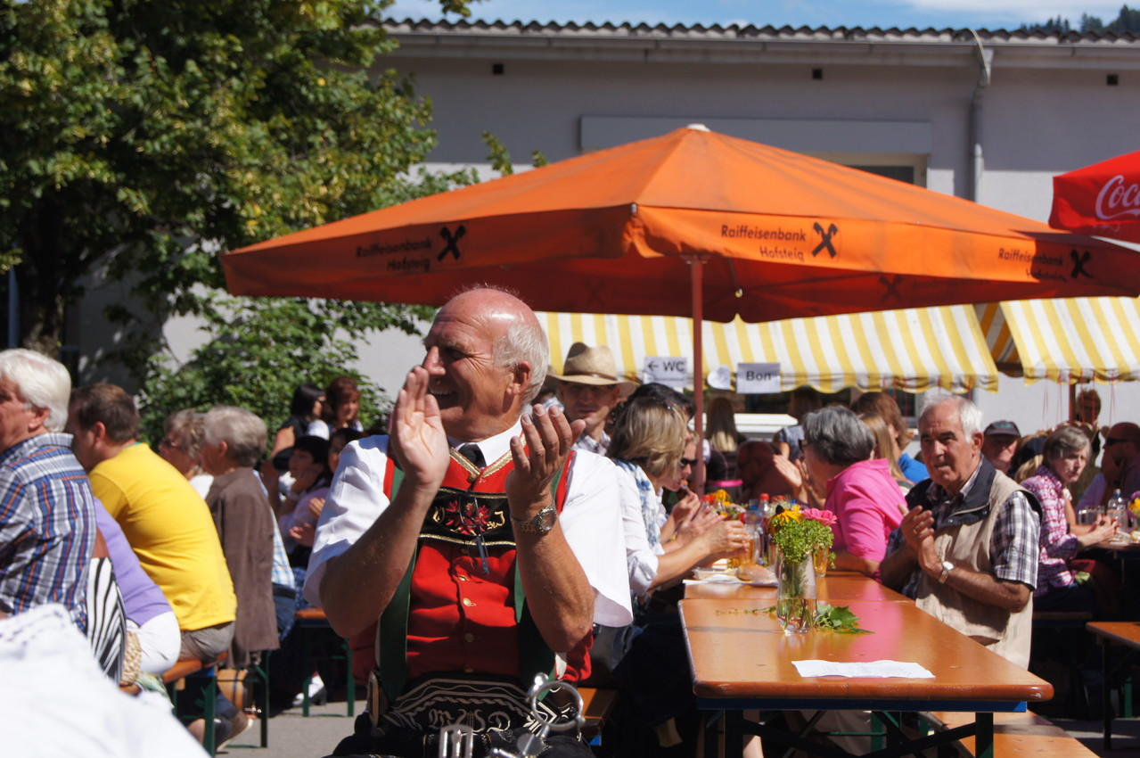 Gut gelaunt beim Musikausflug in Schwarzach/Vbg. (c) Schneider T.