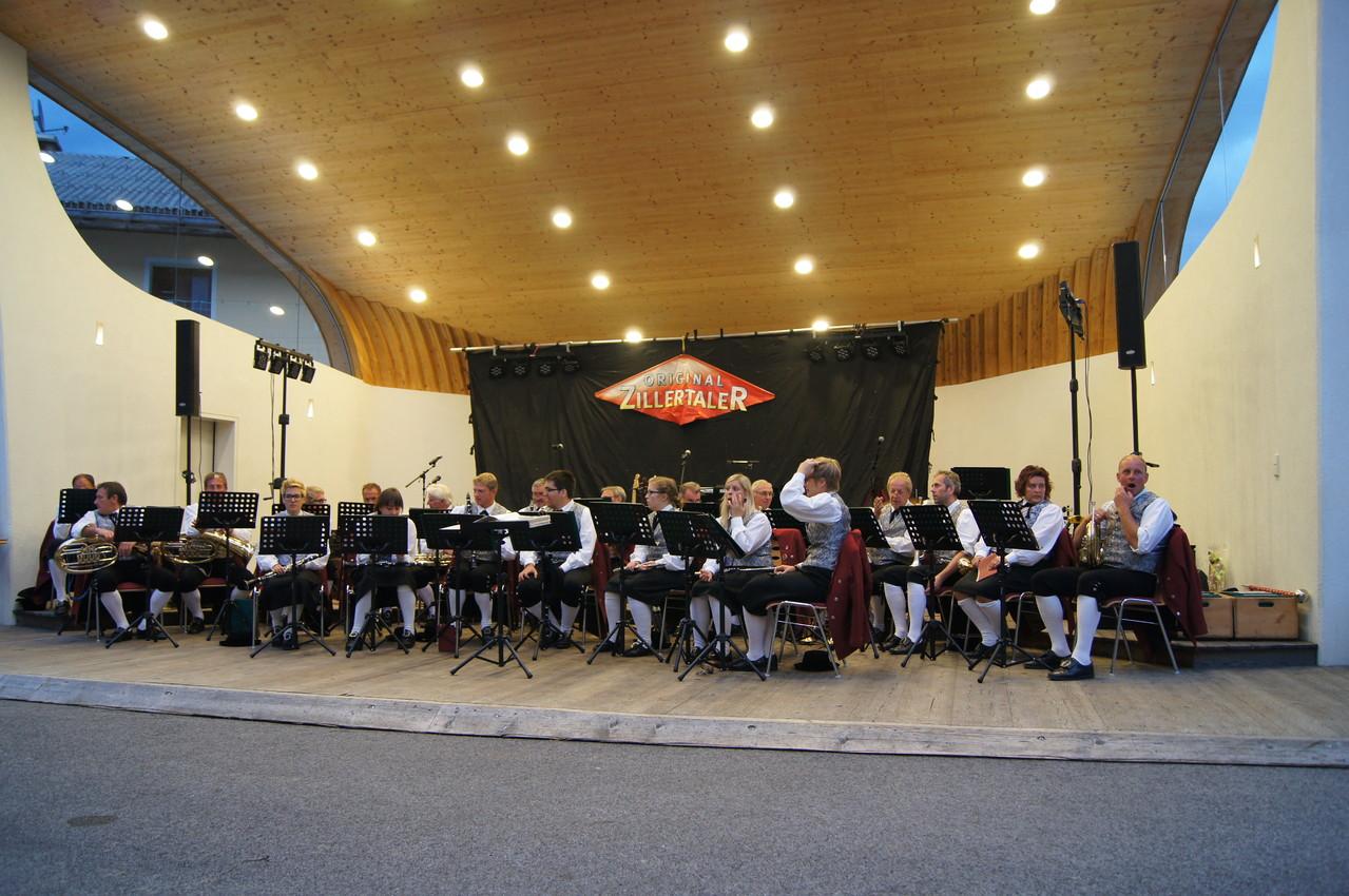 MK Schwarzach - Konzert im Musikpavillon (c) Schneider T.