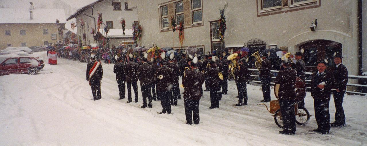 Palmsonntag im Schnee (c) Werner Daum