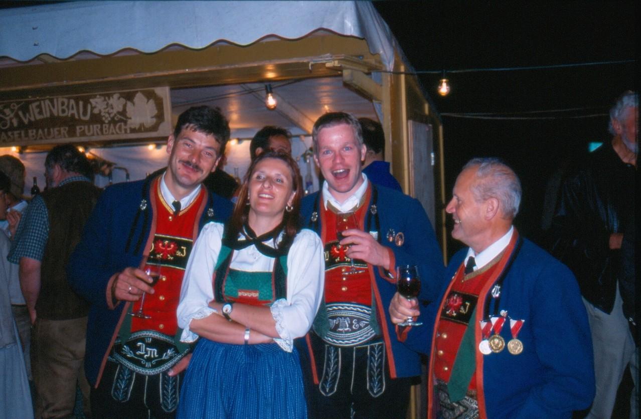 Beim Ausflug nach Langenlois (c) Manni Mair