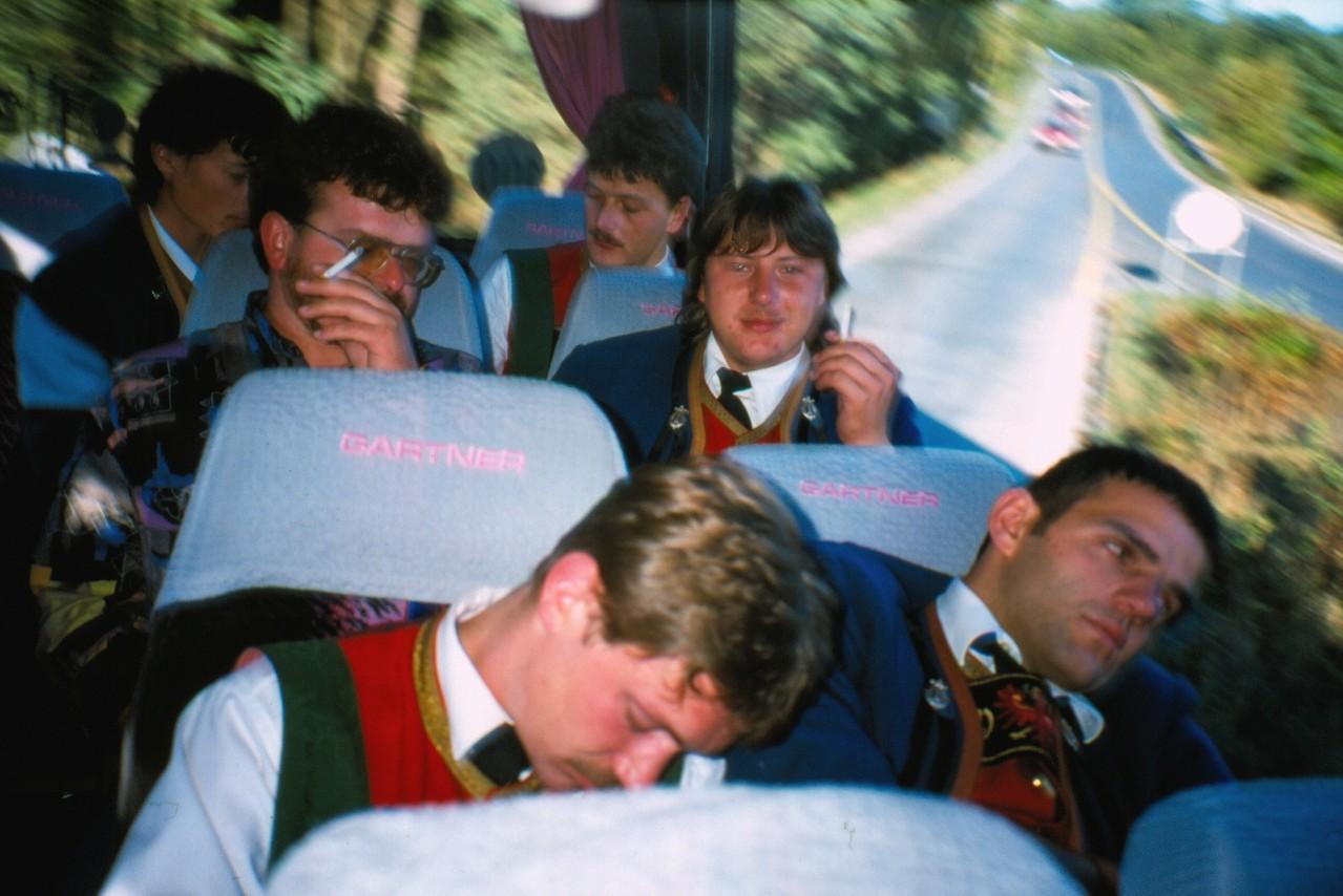 Ausflug Baumgarten - Busfahrt (c) Manni Mair