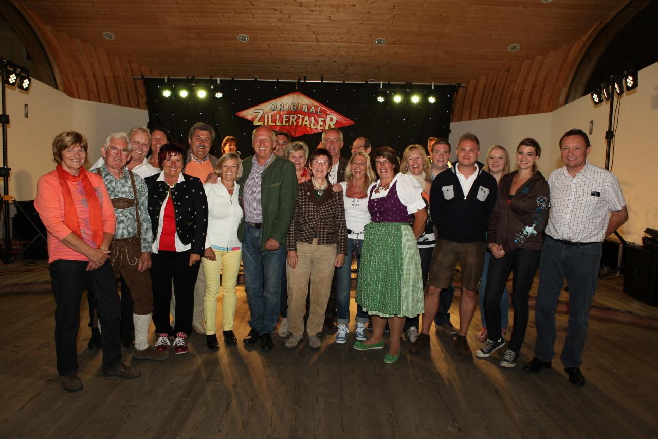 Gäste aus Baumgarten (c) Werner Hammerle
