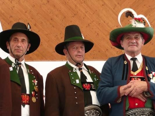 Bezirksmusikfest Telfes Ehrung Friedl (c) Werner Daum
