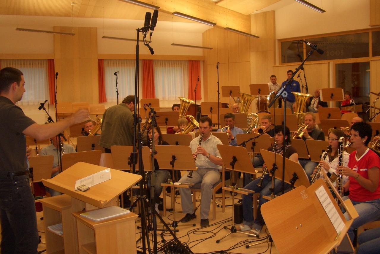 CD-Aufnahme in Matrei (c) Werner Daum
