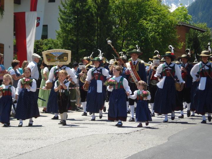 Bezirksmusikfest in Gschnitz (c) Werner Daum