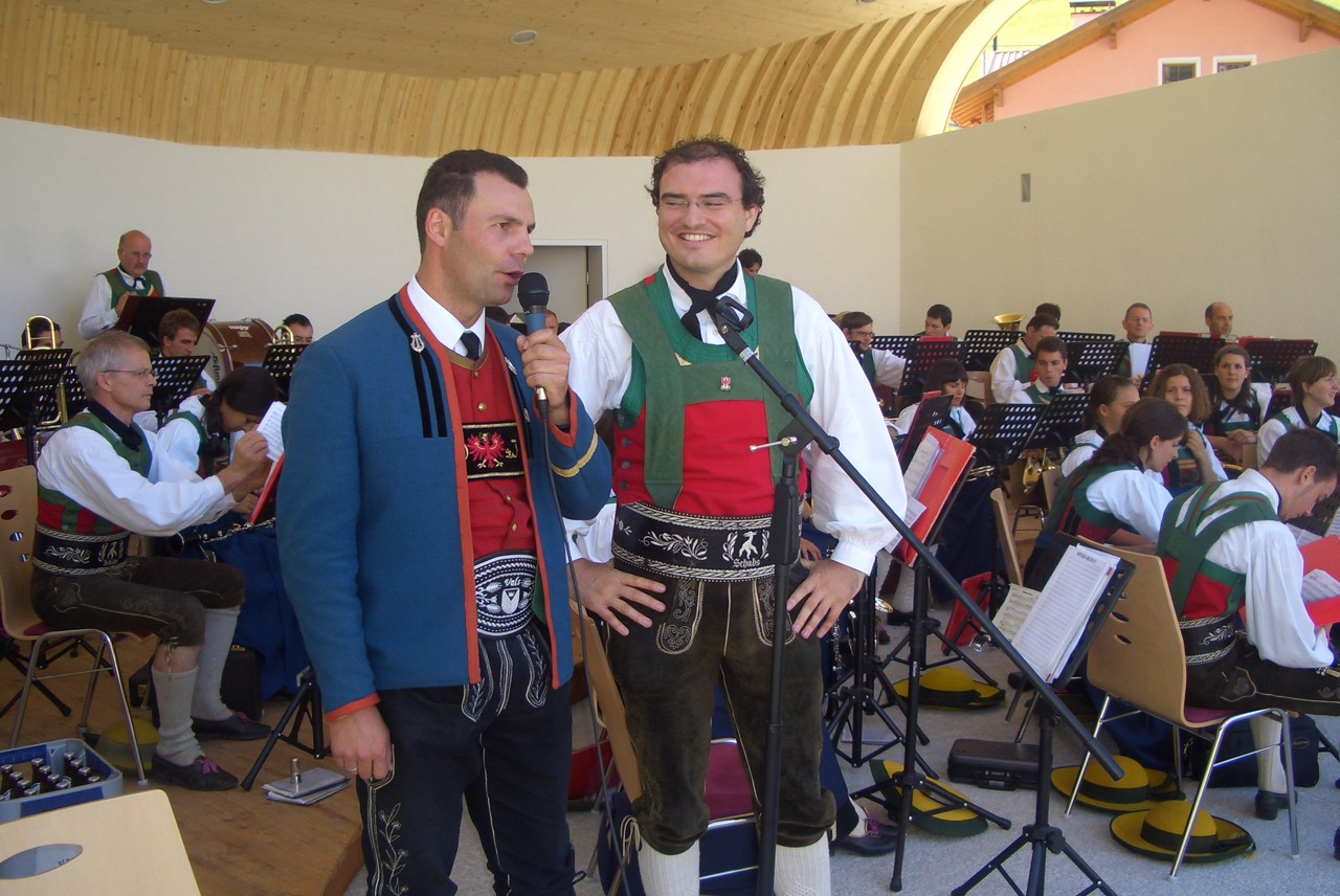 Musikkapelle Schabs/Südtirol zu Besuch in St.Jodok (c) Werner Daum