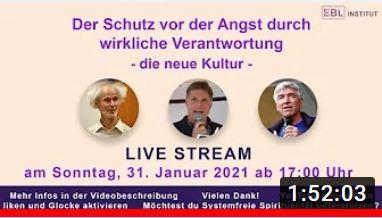 """Livestream: """"Schutz vor Angst"""" vom 31.1.21 weiterhin abrufbar"""