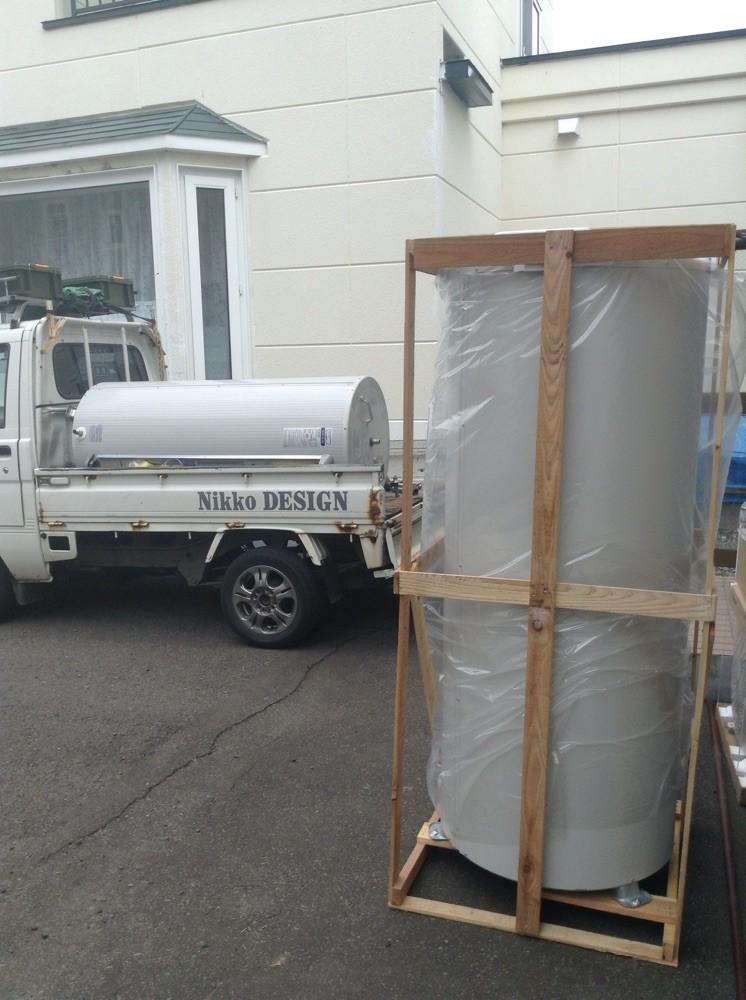 新旧温水器