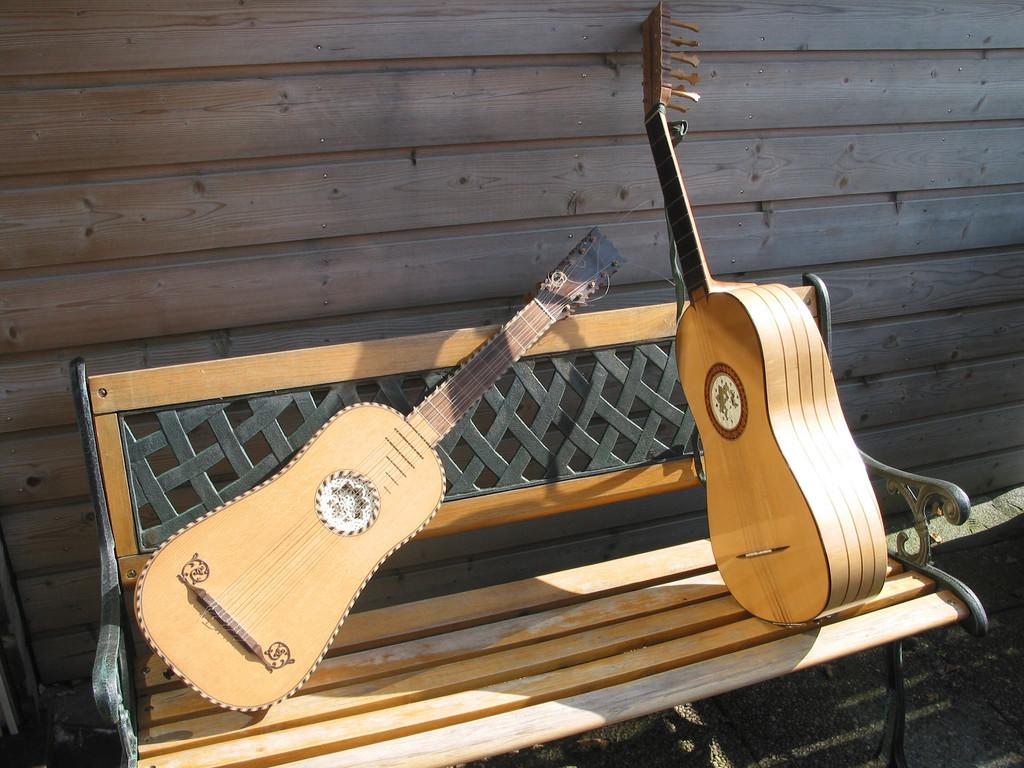 Guitares baroques