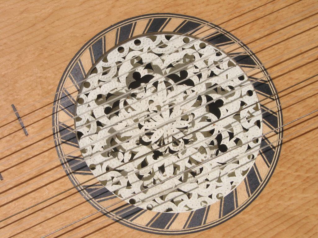 Rosace guitare baroque