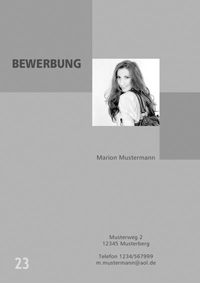Fotograf in Viersen - Bewerbung Deckblatt 23