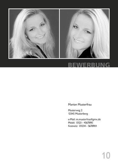 Fotograf in Viersen - Bewerbung Deckblatt 10