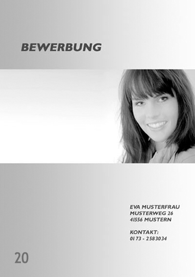 Fotograf in Viersen - Bewerbung Deckblatt 20