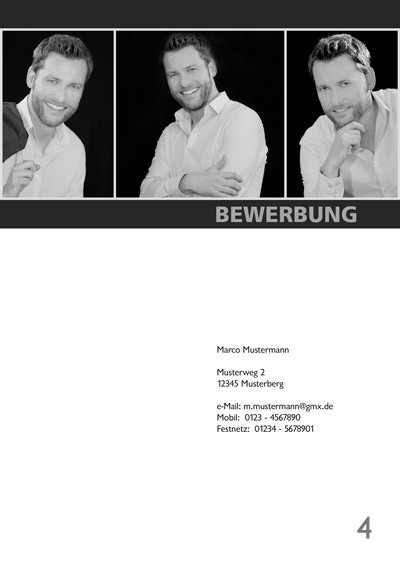 Fotograf in Viersen - Bewerbung Deckblatt 04