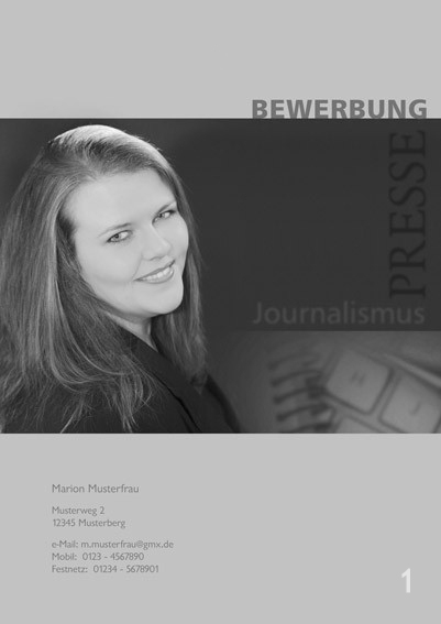 Fotograf in Viersen - Bewerbung Deckblatt 01