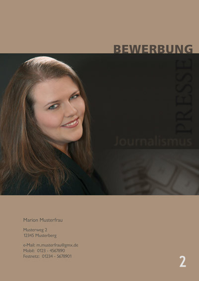Fotograf in Viersen - Bewerbung Deckblatt 02