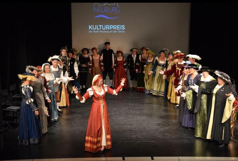 Verleihung des Kulturpreises der Stadt Neuburg (2017)
