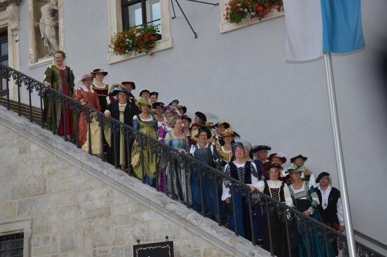 Schlossfest 2015 (Rathaus-Außentreppe)