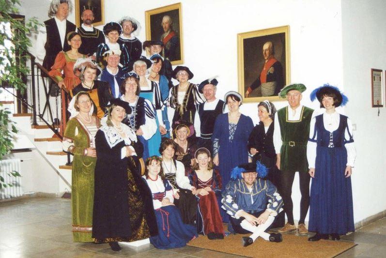 500. Geburtstag von Pfalzgraf Ottheinrich (2002 - Rathaus-Innentreppe)