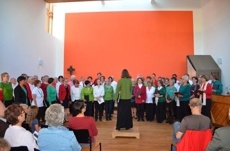 Konzert mit CantAmore Oberfürberg (2014)