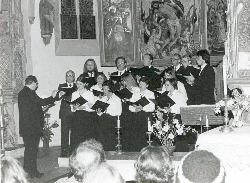 Auftritt Schloss Blutenburg München (1979)