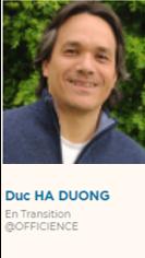 Duc Ha Duong, En transition @Officience