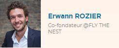 Erwann Rozier Co-fondateur @Fly The Nest