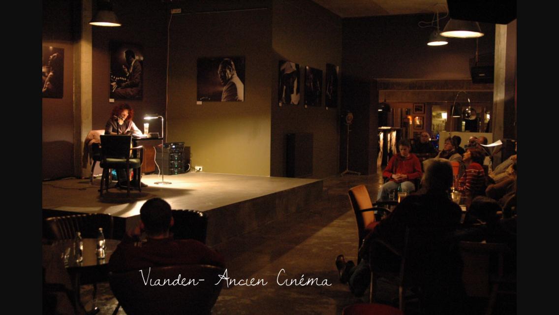 Ancien Cinéma Vianden - Lesung