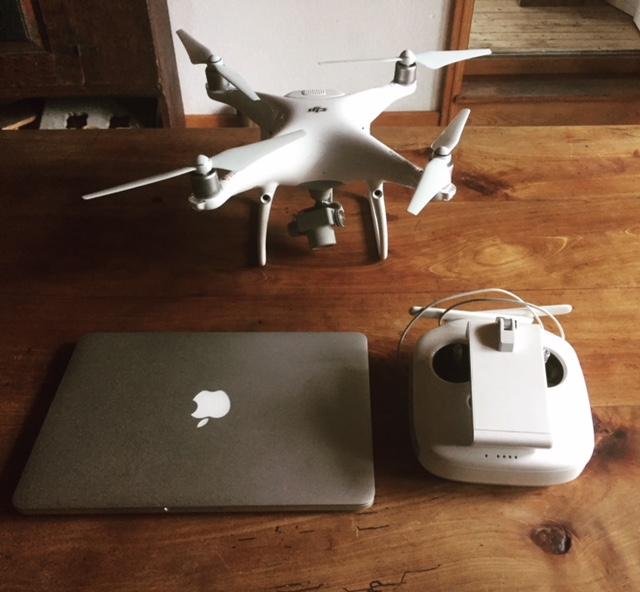 Fotoausrüstung für die Luftbildfotografie