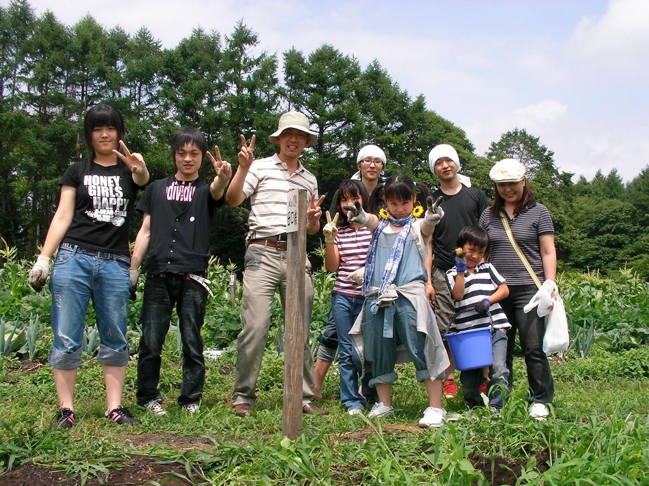 「収穫祭」 じゃがいも~枝豆~とおもろこし~♪