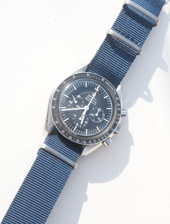 Omega Speedmaster 145.022-69  am Nato strap