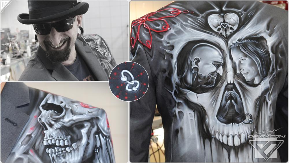 Airbrush und Malerei auf Deko Elementen, ebenso möglich ist die Gestaltung auf Leder, Textil, Modellbau uvm.